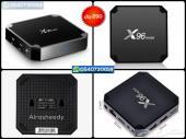 رسيفر x96 mini مع إشتراكات IPTV وهدايا