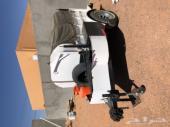 قلص (عربة مقطورة ) مجهزة بالكامل