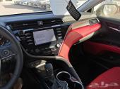كامري 2019 سبورت 6 سلندر SE جلد أحمر
