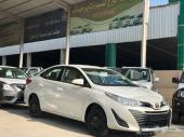 تويوتا . يارس 2019 y 1.5  نوافذ كهرب (سعودي)