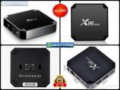 رسيفر x96 mini مع إشتراك سنتين IPTV وهدايا