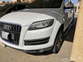 Audi Q7 2014 v6 turbo full options