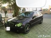مرسيدس سي 200 .. 2004 أسود ..