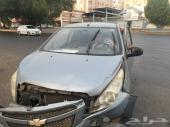 سيارة سبارك شفروليه موديل 2012 (تسقيط لوحات)