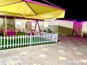 استراحة بملعب صابوني للايجار ب 370 ريال