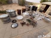 ادوات طبخ مطبخ  متكامله (افران قدور حنيذ وتنو