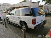 سيارة شيفروليه تاهو أبيض موديل 2003