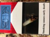دخان ملبوري احمر القديم