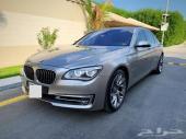 للبيع BMW 740 موديل 2015 بحالة الوكالة