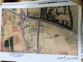 أرض لبيع  قرية الجرادية.الحزام الشمالي