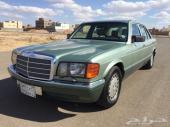 - مرسيدس بنز 1988 SEL 560 -