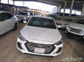 هونداي النترا 2.0 سعودي نص فل أبيض 2018