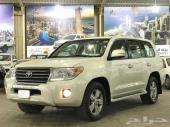 تويوتا لاندكرورزر GXR سعودي 2014 فل كامل نظيف