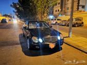مرسيدس E280 2009 أسود ملكي