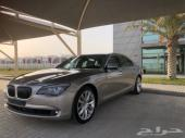 للبيع BMW 740li قمه بالنظافه