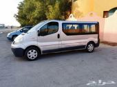 للبيع باص رينو 7 ركاب 2014