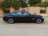 BMW 730 موديل 2013 اسود بحاله ممتازه