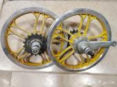 جنوط كروم دراجة هوائية مقاس 12 انش