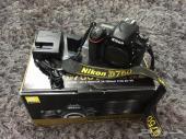كاميرا نيكون بودي فقط  nikon D750 body only