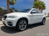 BMW X6 ابيض 2014 فل كامل