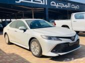تويوتا كامري GLE بنزين 2020 سعودي أبيض