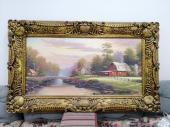 لوحة جدارية كبيرة بحجم شاشة 65 بوصة