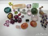 مجموعه احجار كريمه ثمينه للتجاره او الاقتناء