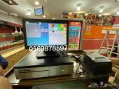 اجهزة كاشير للمطاعم العصائر والكافيهات