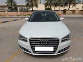للبيع اودي A8L موديل 2013 وكالة البحرين