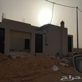 بيت جديد للبيع دور ارضي