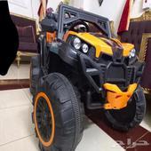سيارة للأطفال لون برتقالي