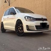 (تم البيع )جوالف 2014 GTI فل سعودي العداد