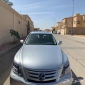 لكزس LS 600 فل كامل هايبرد 2010 مخزنه الشاصي لارج سعودي