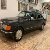 موسيدس 560 موديل 1990 وارد اليابان