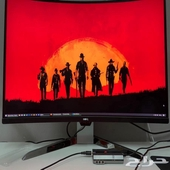 Monitor 144hz 2k 4ms curved