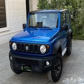 سوزوكي جيمني 2021 لون أزرق قير عادي
