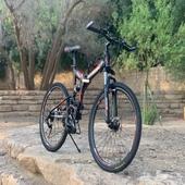 دراجة اباتشي المونيوم تتسفط