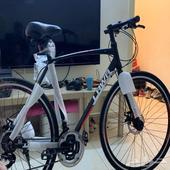 دراجة هجين المنيوم مقاس 26 للبيع