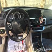 سياره هوندا اكورد عنابي موديل 2015 للبيع