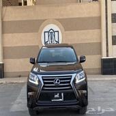 لكزس GX460 2018 شبه وكالة سعودي نظيف
