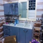 مطبخ كامل استخدام شهر بس نظيف بدون اي خلل