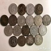 عملات مكسيكية نقدية قديمة 10  فضة