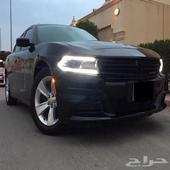دودج تشارجر 2015 V6 سعودي العداد 133 نظيف جدا