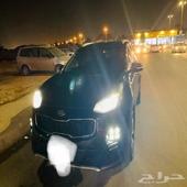 كيا سبورتاج فل الفل gt line 2016 اسود