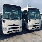 تويوتا باص كوستر 2017بنزين23راكب سعودي