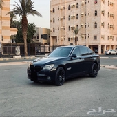 للبيع BMW 740 Li فل الفل نظيف كرت مشروط