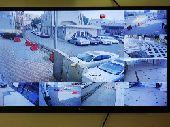 كاميرات مراقبة عالية الجودة و عقود معتمدة