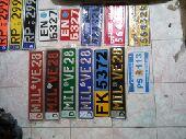 لوحات سيارات