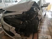 هونداي اكسنت 2012 مصدومة للبيع