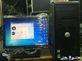 كمبيوترات مكتبية كاملة dell مستعملة ب 480